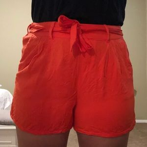 Old Navy Fabric Red Shorts